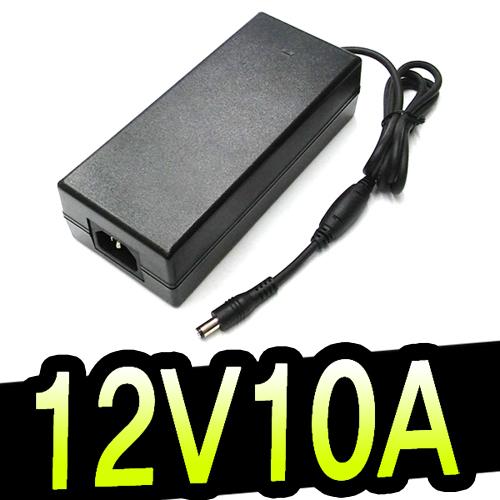명호전자 12V아답터 모음전 12V모니터어댑터 12V0.5A~12V10A까지 보유, 56. 12V10A국내인증-기본규격