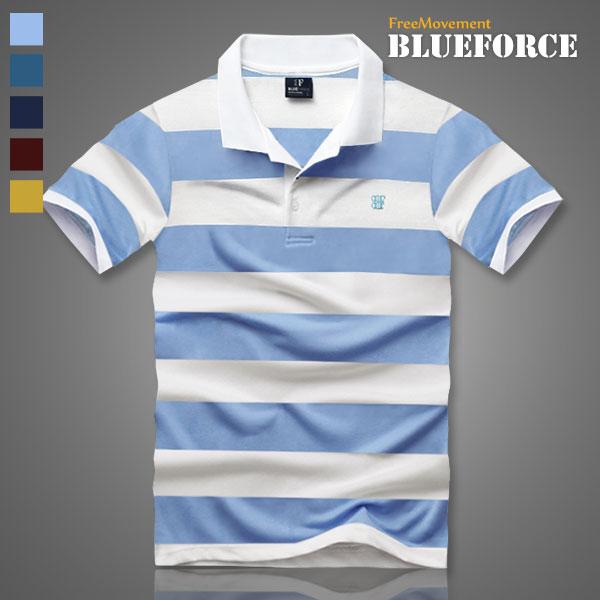 블루포스 남여공용 시크리 반팔카라티 반팔티 남성용 카라티 빅사이즈 커플 단체티 카라 티셔츠