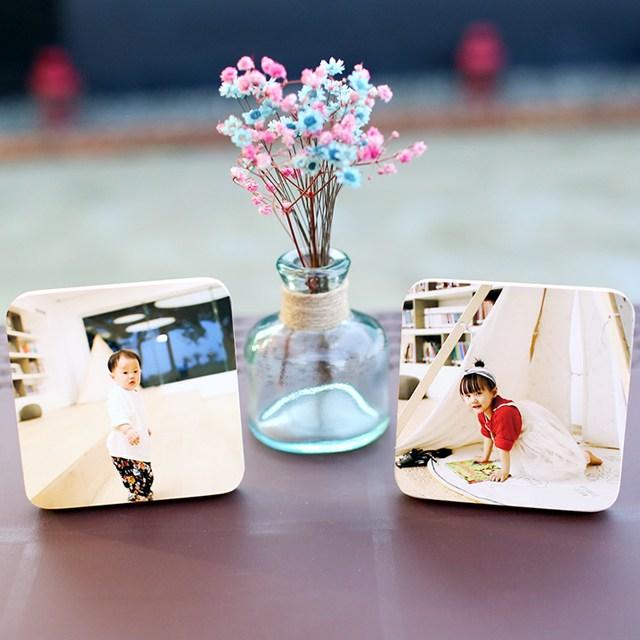 [포토킹] 사진인화 원목 액자, 우드