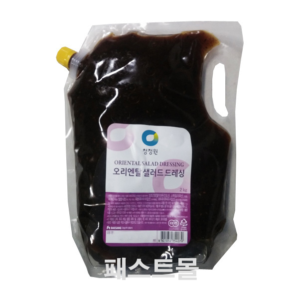 청정원 오리엔탈 샐러드 드레싱, 1개, 2kg