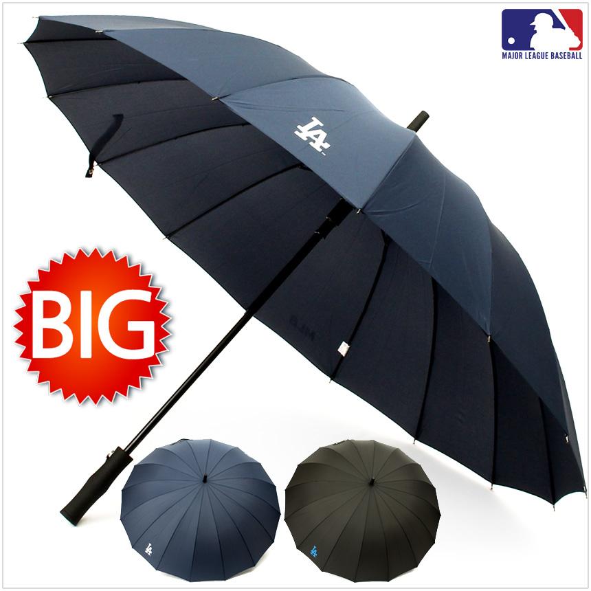 MLB 공인 [빅사이즈] 자동 장우산 [LA멜빵] (70x16K)