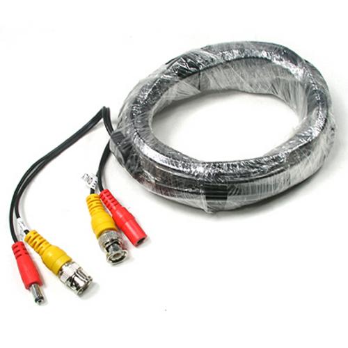 ADC3466 CCTV 케이블 10m BNC DC 5.5 전원 회색 케이블 변환 젠더 커넥터 단자 잭 짹 컨넥터 핀, 본상품선택, 1