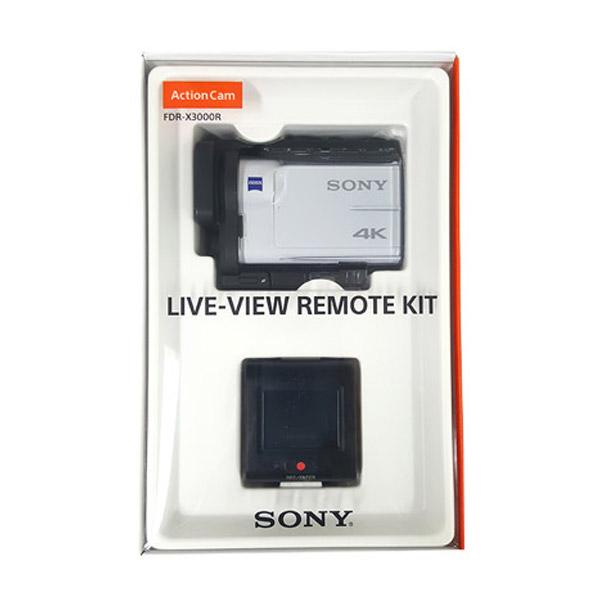 소니 FDR-X3000R 리모트키트 4K촬영 광학식 손떨림보정 액션캠, X3000R[16GB실속패키지]