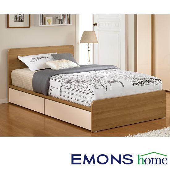 에몬스홈 베스터 서랍형 침대(SS)_독립 매트포함, 단일상품
