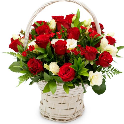 웰컴플라워 꽃바구니 꽃다발 꽃상자, 1 사랑의파수꾼