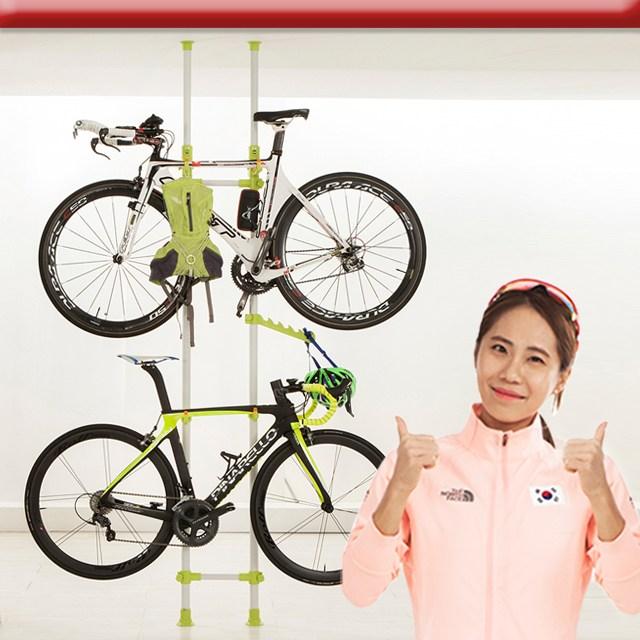 자전거거치대 크랭키/자전거보관대/자전거용품/실내 자전거거치대/5컬러, 크랭키 메탈와인