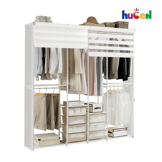 휴센 골드 2000 드레스룸 옷장, 골드 2000+측판+롤스크린