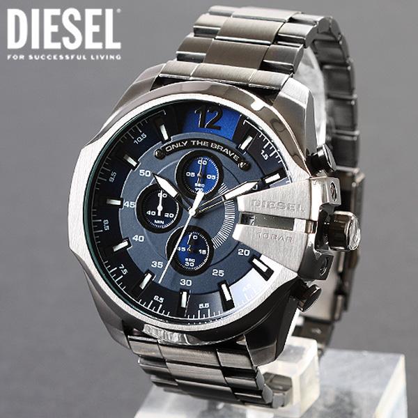 디젤 DZ4329 메탈 시계