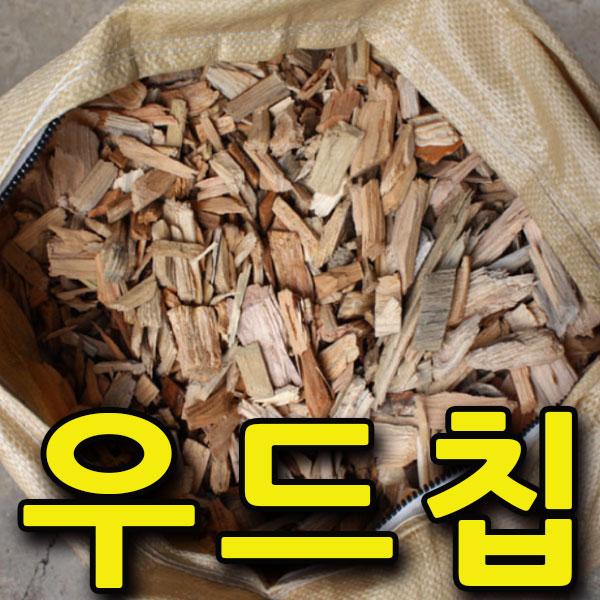 지엘파크 소나무우드칩45L 겨울철 수목보온용 조경자재 멀칭