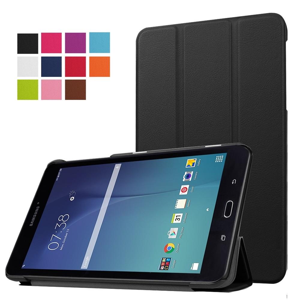 갤럭시 탭 E 8.0 스마트 컬러 거치 케이스 + 보호 필름 증정 이벤트, 블랙+보호필름