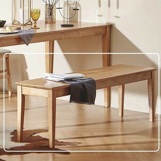 한샘 로하 원목 6인 와이드 벤치 식탁의자 DIY