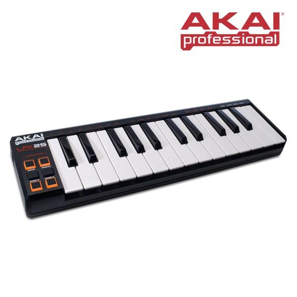 AKAI LPK25 미니 USB 컨트롤러 25건반 마스터 키보드