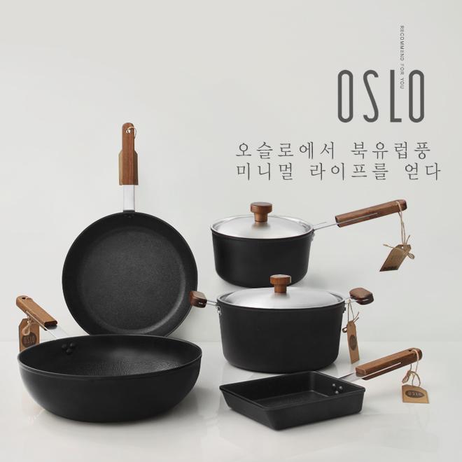 OSLO 오슬로 IH 인덕션 프라이팬 5종 세트