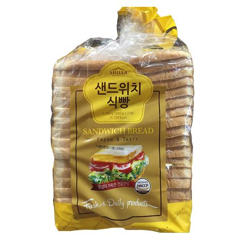 신라명과 [신라명과] 샌드위치식빵(대) 식빵, 1세트, 1760 그램