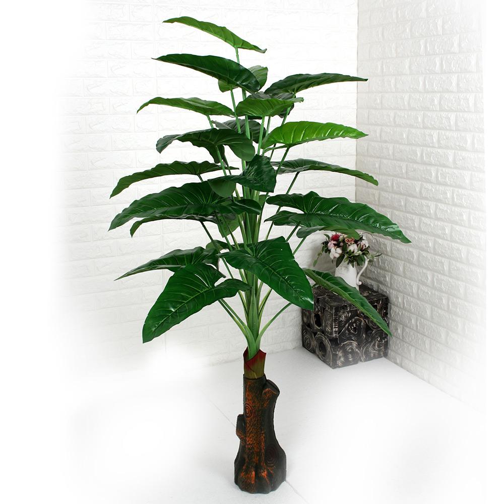 조아트 인조나무 조화나무 실내조경 인테리어 몬스 필러 매화, 02. 알로카시아 140cm
