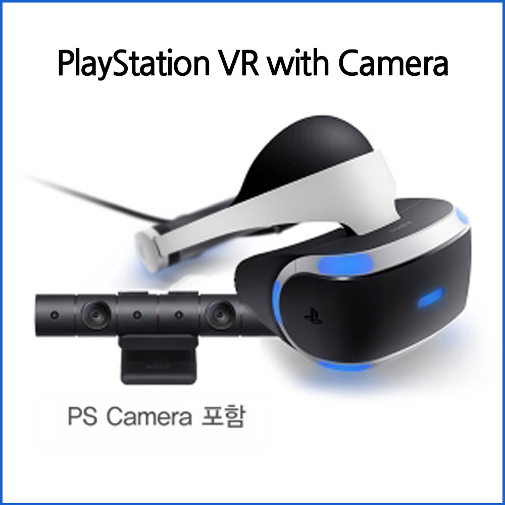 플레이스테이션 VR with Camera PS4 카메라 세트. 게임기기, VR+카메라세트