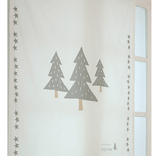 디자인갤러리 북유럽디자인. 찍찍이설치 면커튼, 스칸디 빅트리 (BL)