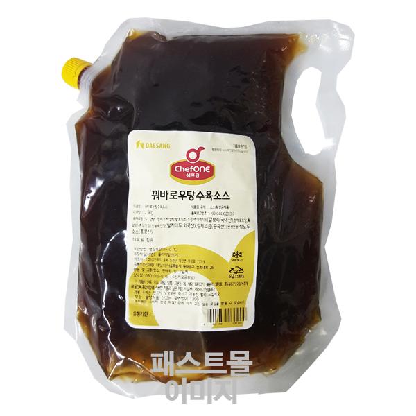 쉐프원 꿔바로우 탕수육소스, 2kg, 1개