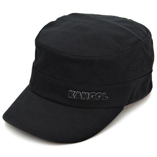 (100%정품 국내발송)KANGOL 캉골 코튼 트윌 플랙스핏 아미캡 9720 블랙
