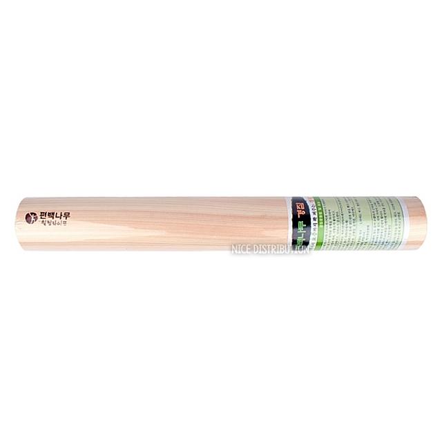 힐링라이프 편백나무 운동밀대 50cm 요가밀대 발목펌프 스트레칭 안마 마사지 배게, 1 (POP 30235855)