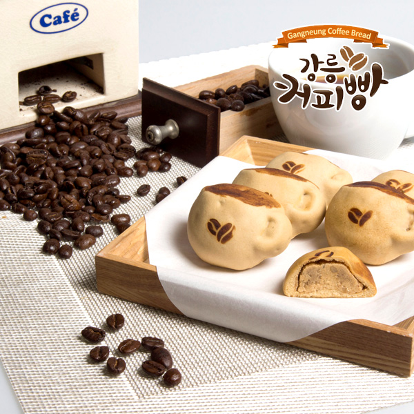 [강릉 커피빵] 커피의 도시에서 전하는 그윽한~ 커피빵, 8개입