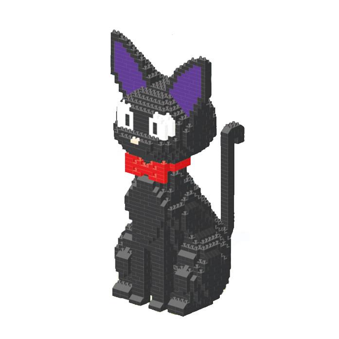 [아토블럭] 대형나노블럭-검은고양이(8806)