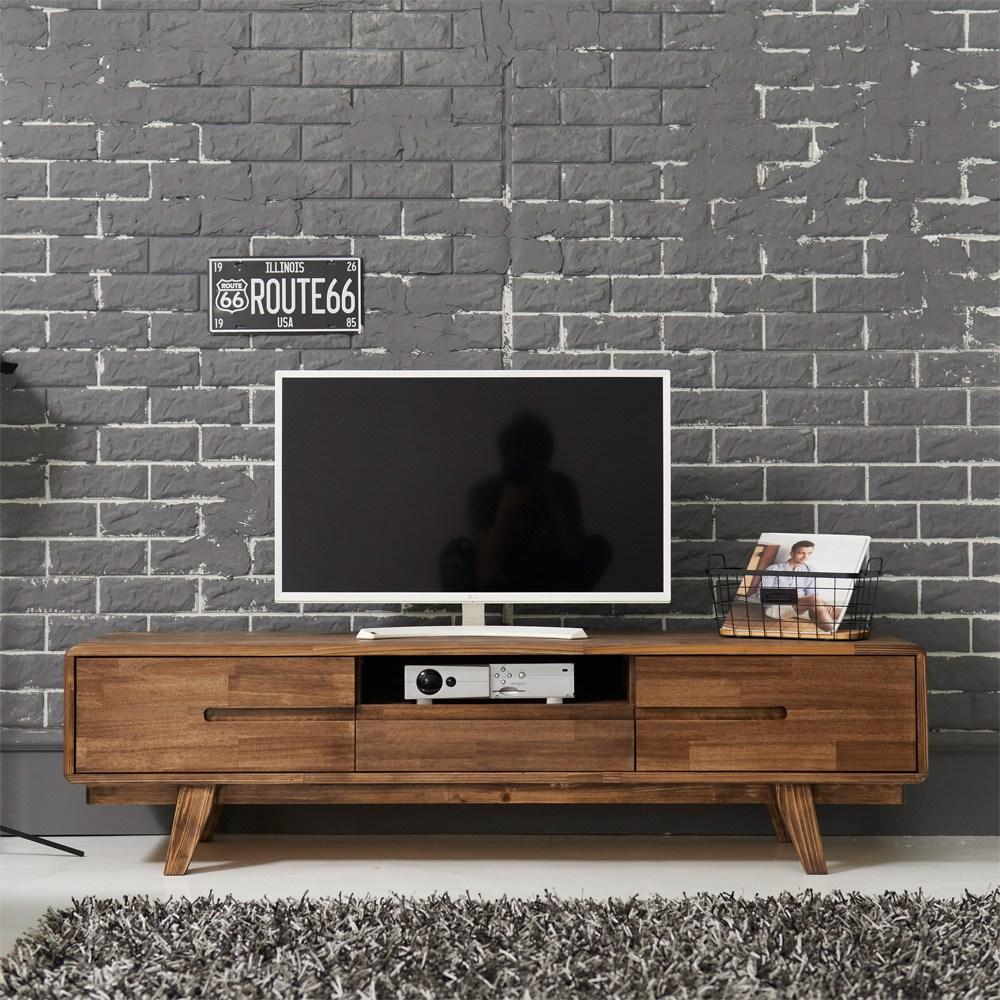 다올퍼니 북유럽 원목 거실장 TV거실장, B-3 1500 비디오형거실장 - 엔틱