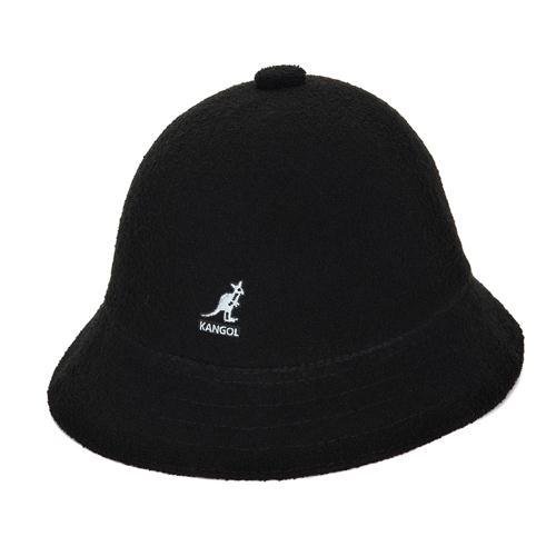 (100%정품 국내발송) KANGOL 캉골 버뮤다 캐주얼 모자 블랙 0397BC