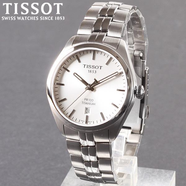 [TISSOT] 티쏘시계 PR100 티타늄 쿼츠 T101.410.44.031.00 메탈 시계