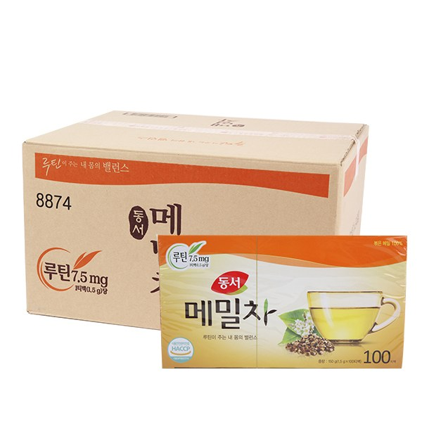 동서 메밀차 박스, 1.5g, 2400개입
