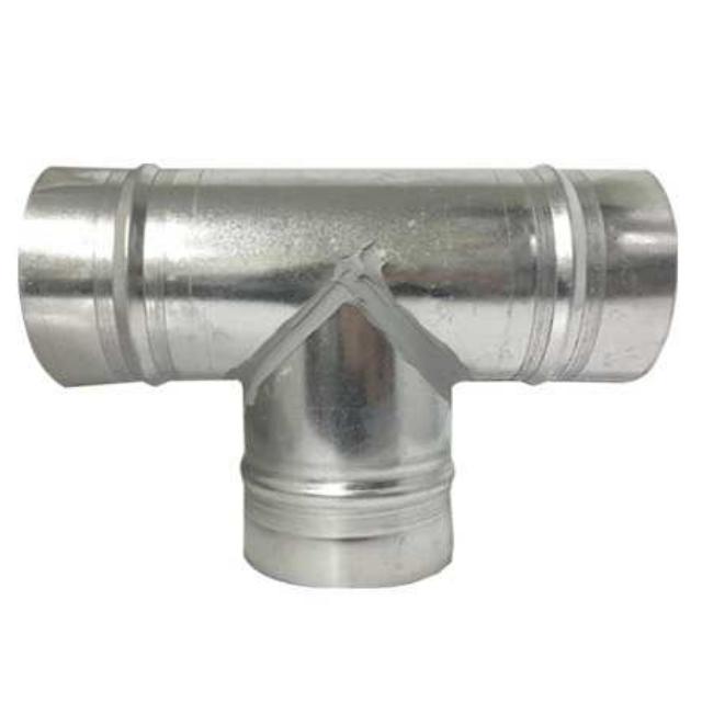 에어텍 티(TEE) T 75~300mm 덕트부속 닥트부속, 1개