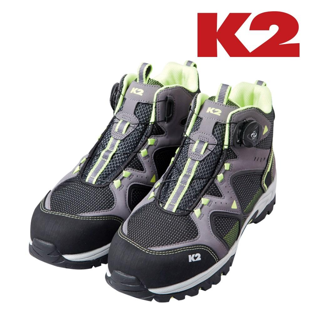 K2 보아시스템 안전화 6인치 K2-62