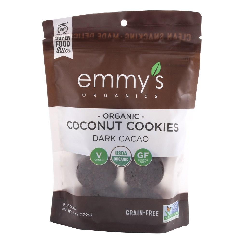 에미즈 코코넛 쿠키 다크 카카오, 170g, 1개
