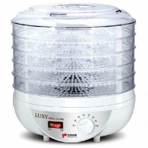 키친아트 LU-300 식품건조기 가정용 5단트레이 발효요구르트청국장 온도조절 순환건조 소비전력250W, 키친아트 LU-300 럭시 아델