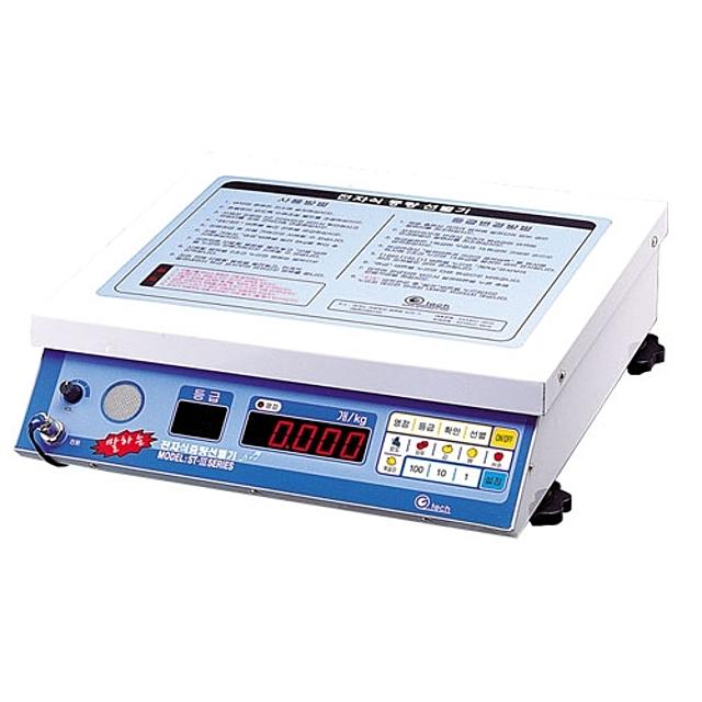 산업용품 전동공구 Gtech_다목적말하는과일선별기(저울)_ST360_60kg 공구 측정공구 측정용공구 산업자재, 단일상품