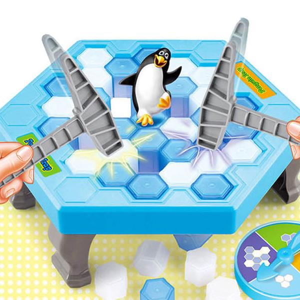 (대형) 펭귄트랩 복불복 얼음깨기 장난감 보드게임, 단일상품