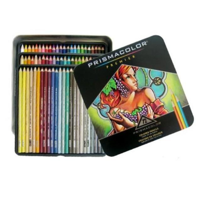 미술파레트 미술가운 스케치북 (1094827)(산포드)프리즈마 유성 색연필 (72색) 미술용품 미술놀이 유아미술, [6479870]단품