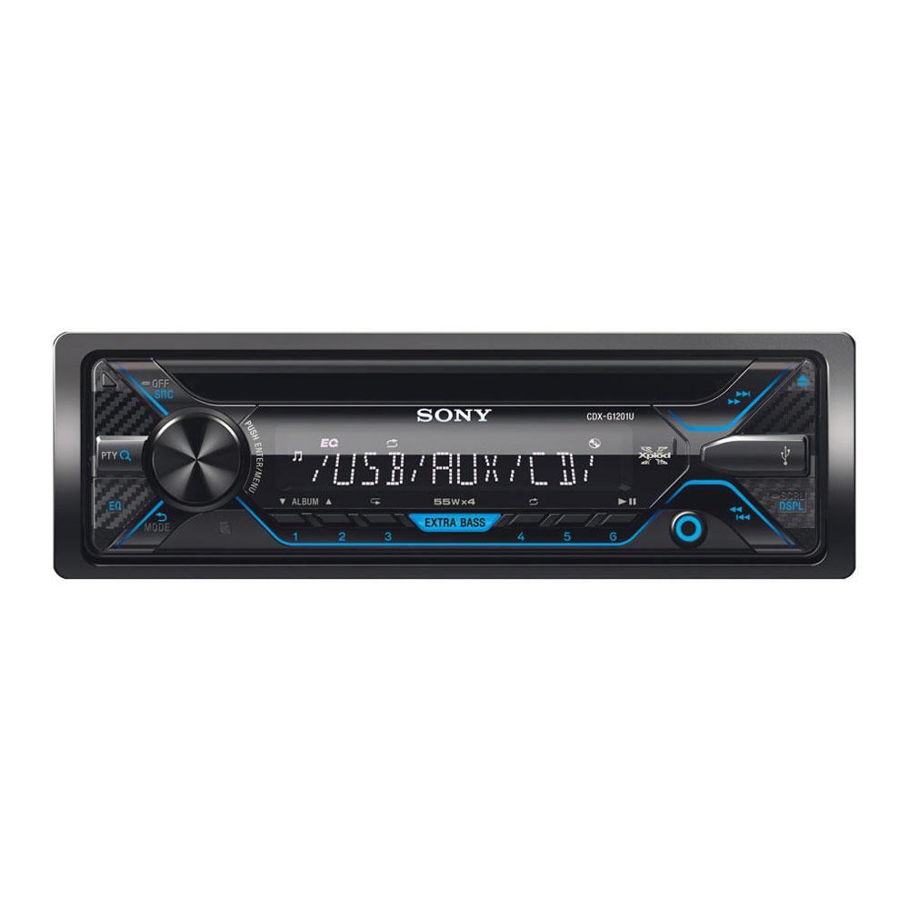 소니 CDX-G1201U 카오디오