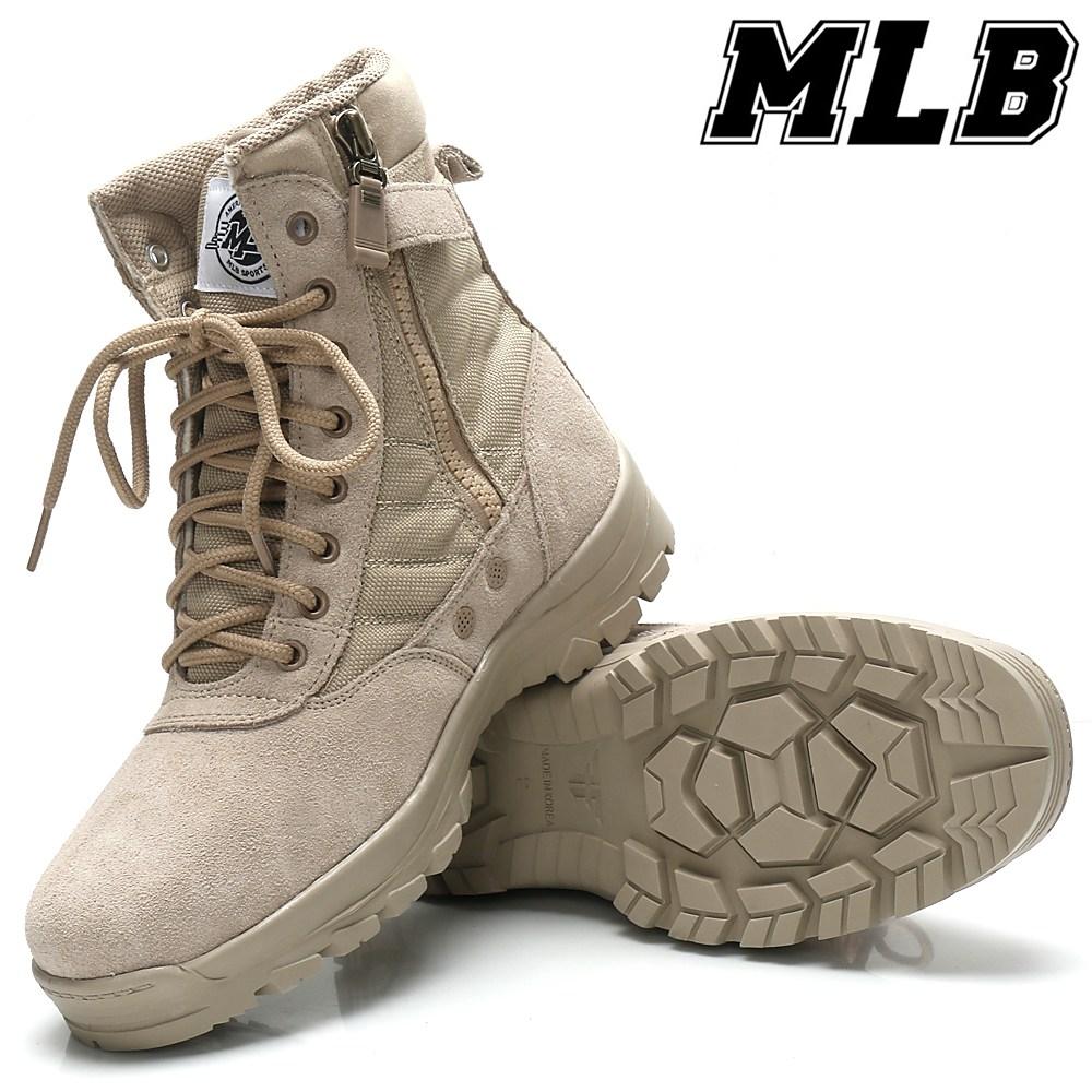 MLB 남자워커 사막화 밀리터리 전술화 남성워커 남성부츠 남자부츠