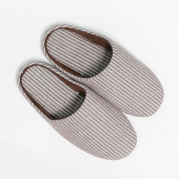홈 리빙 감성 인테리어 URBAN 스트라이프 슬리퍼/집/거실/실내화/신발/슬리퍼/줄무늬/부드러운/편안한, 베이지, 본품선택