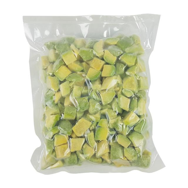 자연미가 아보카도 500g(500gx1ea) 냉동과일 냉동아보카도, 1개, 500g