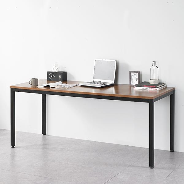 파란들 엑소 나인 1800 LPM 스틸 테이블 책상, 블랙월넛