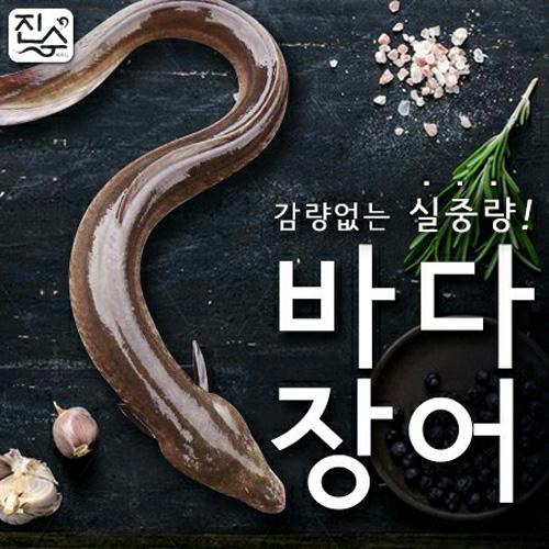 통영바다장어 손질후 실중량(중) (대) 붕장어, 1개, 중 - 1kg