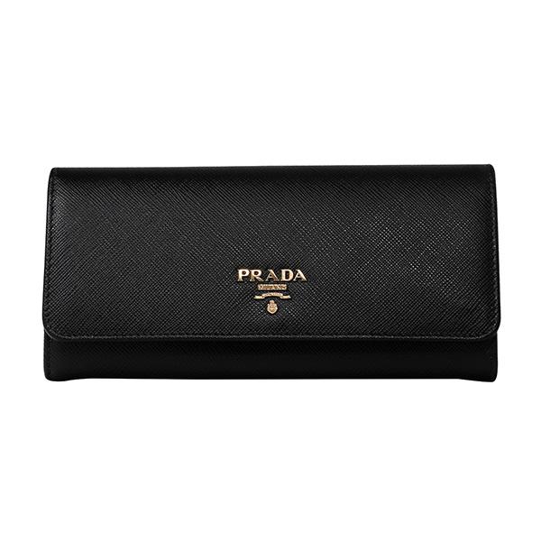 프라다 사피아노 플랩 비텔로무브 명품 장지갑 1MH132 QWA F0002 / PRADA