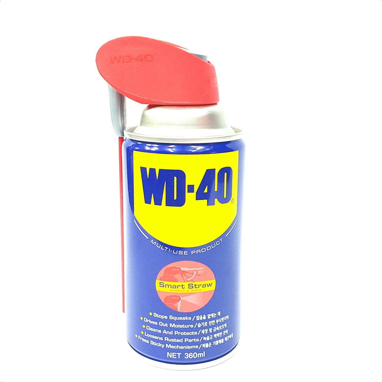 뉴천일연마(주)/윤활방청제/WD40(360ml)Straw/녹방지제거