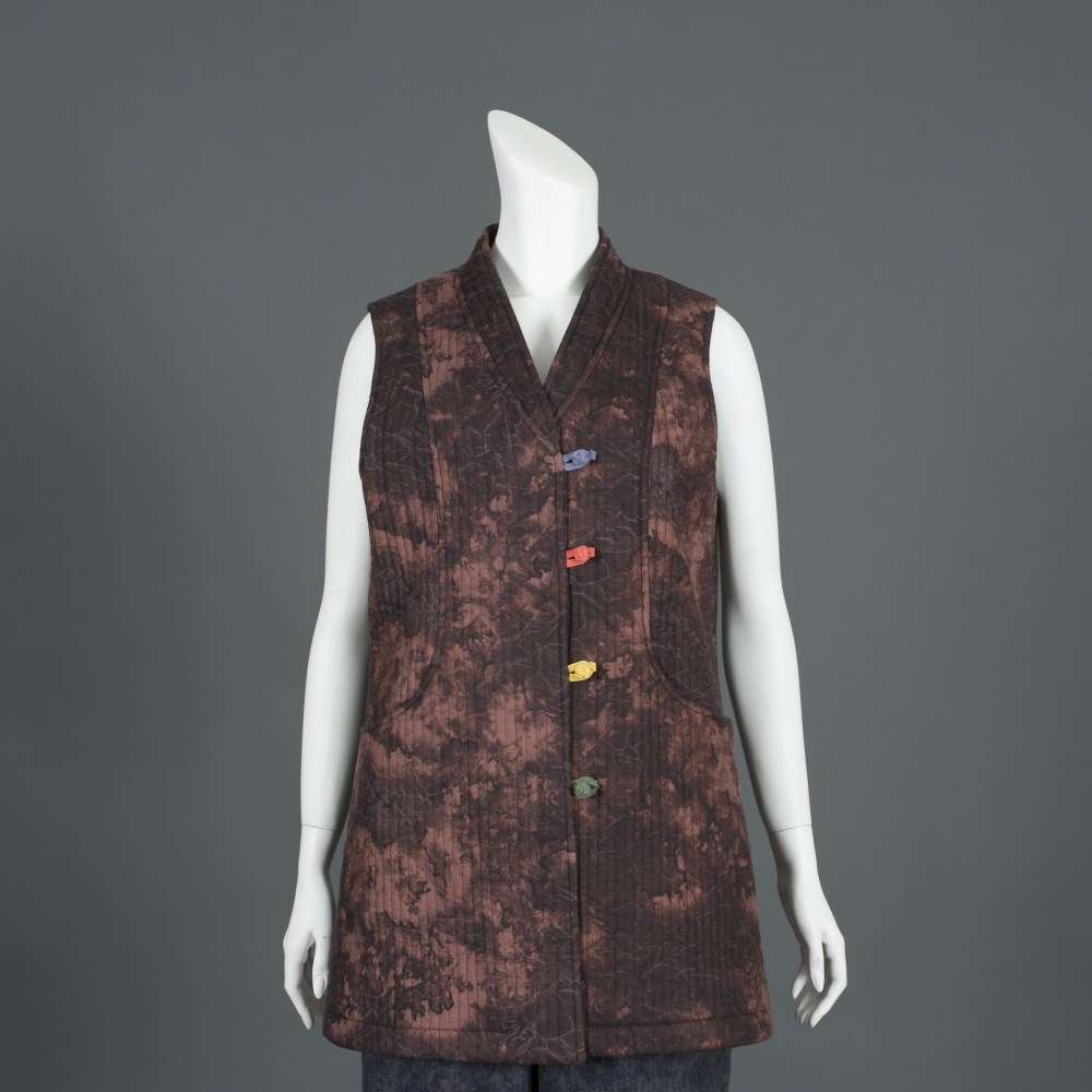 부국사임당 여성 가을 겨울 생활한복 조끼 바지 생활한복(개량한복)