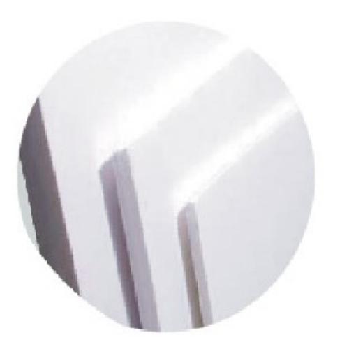 아주문구 HF 원단백색 폼보드 600*900mm 각종행사장사용, 1개, 5mm