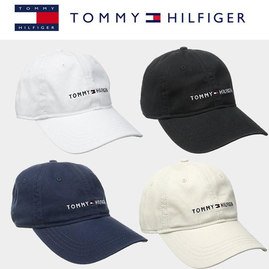 [해외]미국정품 타미힐피거 Tommy Hilfiger Logo Dad Hat 로고 대드 볼캡 야구모자