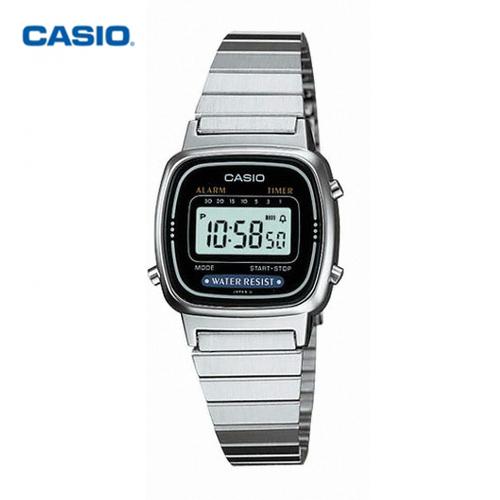 [CASIO] 카시오 여성용메탈시계 LA670WA-1D 여성메탈시계