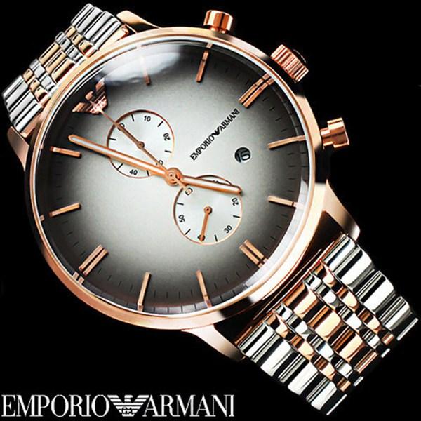 알마니 ARMANI 남성용 메탈 시계